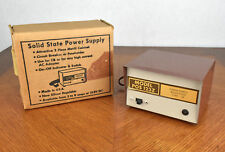 Solid State Power Supply Model POS-123Z 12V-3A Regulated MADE IN USA