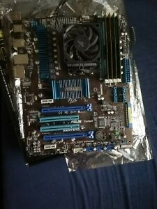 Asus M4N75TD with Phenon II x4 840 3.2Ghz 8Gb DDR3 1600MHZ