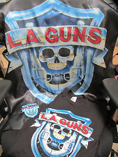 L.A.Guns Bundle - T-Shirt,Patch,& Tapestry Rock n Roll Sunset Strip HollyWood