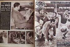 LE MIROIR DES SPORTS 1956 N 605 RUGBY  FRANCE- TCHEQUES