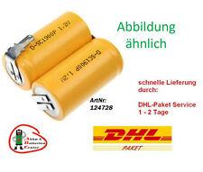 Akkupack für Staubsauger Black&Decker classic HC400 2,4V 4500mAh Ni-MH
