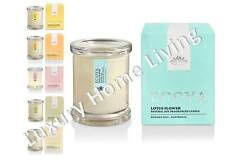 ECOYA Candle LOTUS Flower Natural Soy Wax Mini Metro Gift Boxed fragrance travel