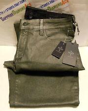 NYDJ Petites Sheri Metallic Foil Skinny Jeans P282651M Size 8P BRAND NEW!