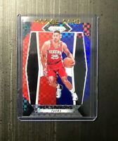 2017-18 Panini Prizm Prizms Red White and Blue #9 Ben Simmons