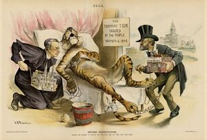 TAMMANY TIGER DEAD EXECUTED ELECTRIC SHOCK BATTERY BUCKET BEYOND RESUSCITATION