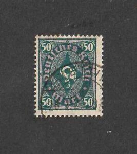 German Reich 1922 , #  209 PY ,