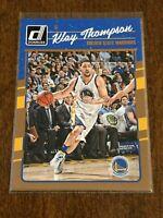 2016-17 Donruss Basketball Base Card - Klay Thompson - Golden State Warriors