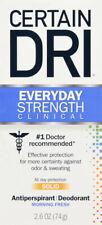 Certain Dri AM Solid Stick Fresh Scent 2.6 ounces
