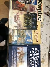 Job Lot Of 5 Military Tank Army Vehicle Books Modelling Poem Has Notes Inside