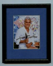 Autographed Framed 5 X 7 Photo Movie Star Actor Tony Curtis