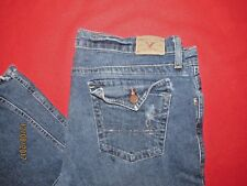 """Women's American Eagle Stretch Boot Distressed Jeans Size 36""""x33"""""""