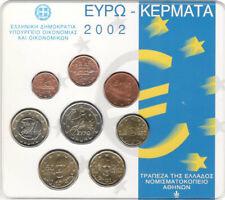 GRIEKENLAND  BU SET 2002
