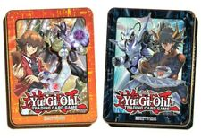 Yugioh 2018 Mega Tins! X6 Yusei, X6 Jaden! (X12 Tins Total) New, Factory Sealed!