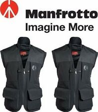 Manfrotto Lino Men's PRO Photo Vest LPV050M with tags size M L, and XXL