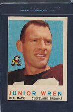 1959 Topps #169 Junior Wren Browns VG 59T169-121015-1