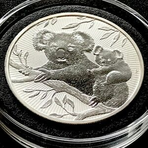 2018 Koala Next Generation First in Series Australia 2 oz 9999 Silver Perth Coin