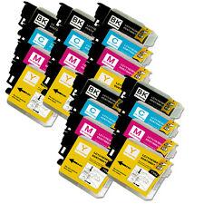 24 PK NEW Premium Ink Set for Series LC61 Brother MFC J410w J415w J615W J630W