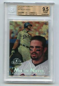 Melvin Nieves 1997 Flair Showcase Row 0 BGS 9.5 ABC3675