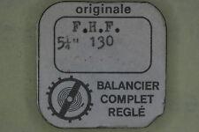 Balance complete FHF F.H.F. - FONTAINEMELON 130 bilanciere completo 721 NOS