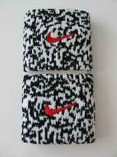 Nike Dri-Fit Mezzo Wristbands Black/White/University Red Rare