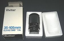 Vivitar 35-105mm f3.2-f4.0 SMS 1:4x Macro Camera Lens in original box (Olympus)