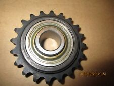 "NEW, MARTIN 35BB20H 5/8"" BORE, IDLER SPROCKET BALL BEARING, HARDENED TEETH."