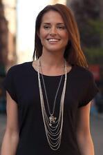 Stella Dot Cascading Multi Chain Necklace