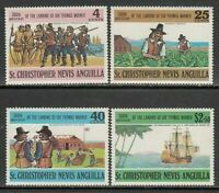 San Christopher - Mail Yvert 272/5 MNH Boats