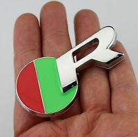 3D Metal Car Auto Badge Emblems Stickers Decals For Jaguar R Racing sports NEW