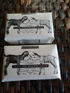 Lot of Beekman 1802 Pure Goat Milk Soap 3.5oz ea Fragrance Free Beekman soap lot