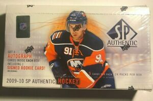 2009-10 Upper Deck SP Authentic NHL hobby box factory sealed (John Tavares FWA)
