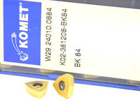 10 NEW SURPLUS KOMET W29 24010.0884 CARBIDE INSERTS WOEX 05T308-01BK84
