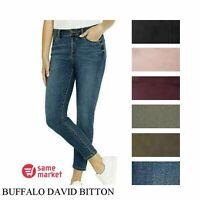 NEW Buffalo David Bitton Women/'s Francesca Mid-Rise Skinny Stretch Jeans VARIETY