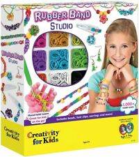 Creativity for Kids Rubber Band Studio - Jewellery-Making Complete Kit