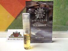 AMOUAGE MEMOIR WOMAN EAU DE PARFUM 2 ML SPRAY NEW SAMPLE FROM OMAN