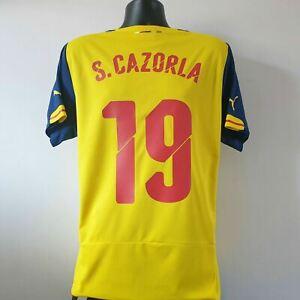 CAZORLA 19 Arsenal Shirt - Large - 2014/2015 - Puma Away Jersey