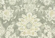 Magnolia Home Fabric Belmont Mist Cotton Duck  Print  Drapery Upholstery