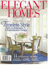 ELEGANT HOMES, TIMELESS STYLE  SPRING / SUMMER, 2017  ( BOLD ARCHITECTURE &