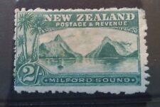New Zealand 1898 Pictorials 2/- Milford MINT!!