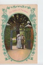 Courting Couple at The Gates of Paradise