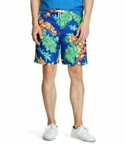 Polo Ralph Lauren Kailua Swim Trunks Tropical Print Board Shorts Small NWT $79