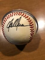 Dan Plesac Autographed Baseball with COA on a Bart Giamatti Baseball