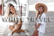 Viaje blanco, 4 Presets Premium Lightroom móvil