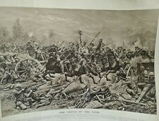 More details for ww1 origional print london illustrated news christmas 1914 the taking of the gun