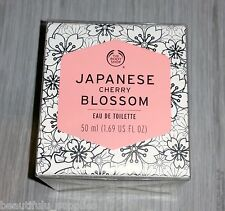 The BODY Shop EDT Eau Toilette Perfume 50ml 1.7oz NEW - JAPANESE CHERRY BLOSSOM
