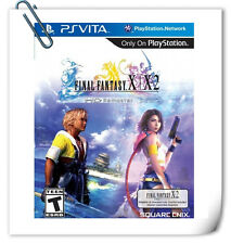 2 IN 1 PSV FINAL FANTASY X / X-2 HD REMASTER PlayStation VITA RPG Square Enix