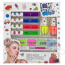 12 tlg. Beauty-Make-up Schmink-Set 1 Kinder Nagellack Lipgloss Liedschatten