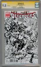 DEFENDERS #1 SKETCH VARIANT 1:200 CGC 9.8 SIGNATURE SERIES SIGNED x2 STAN LEE