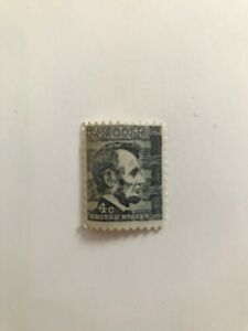 United States 1282  Lincoln Prominent American 4 Cent Stamp #LP113