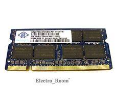 NANYA NT2GT64U8HD0BN-AD 2GB 2Rx8 PC2-6400S 800MHz DDR2 Laptop Ram Memory SO-DIMM